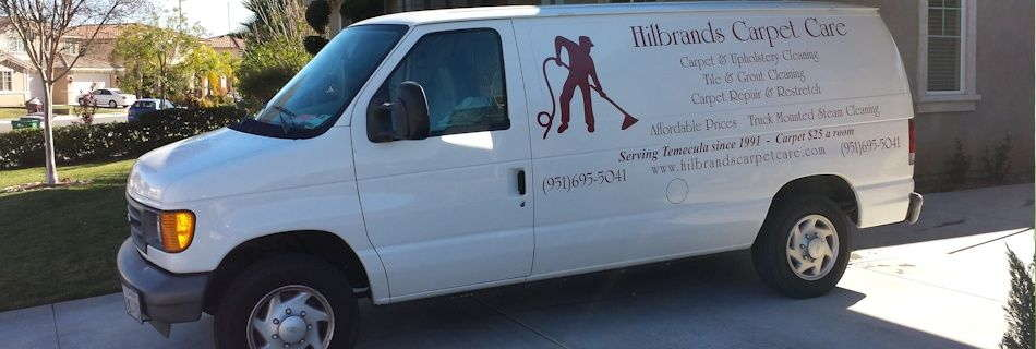 Carpet cleaning truck mount Hilbrands Carpet Care