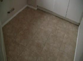 finished tile grout cleaning